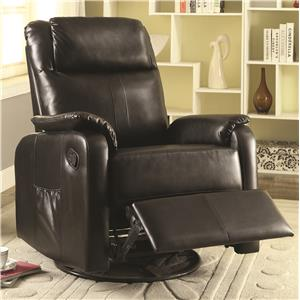 Coaster Recliners Swivel Glider Recliner