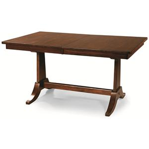 Cochrane Downtown: Solid Mahogany Trestle Table