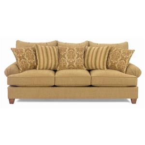Craftmaster 7990 Casual Stationary Sofa