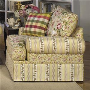 Craftmaster 9535 Skirted Chair