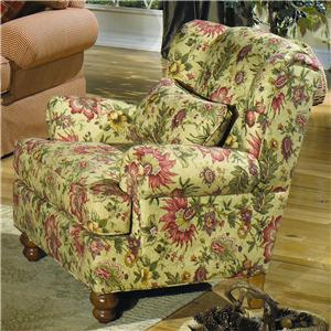 Craftmaster Accent Chairs Wingback Chair
