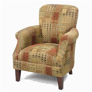 Craftmaster Accent Chairs Tight Back Accent Chair