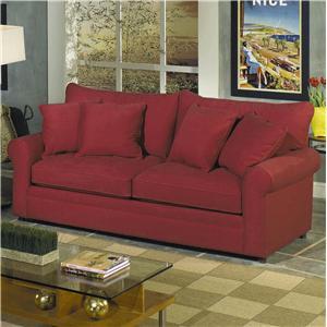 Craftmaster 7235 Upholstered Sofa