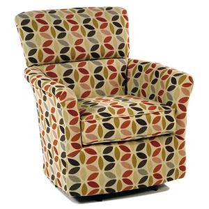 Swivel Chairs Fabric By Cozy Life Rotmans Cozy Life