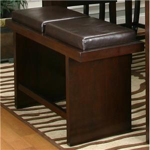 """Cramco, Inc Contemporary Design - Kemper 24"""" Counter Bench"""