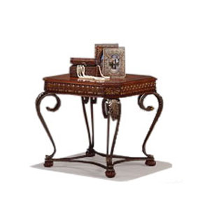 Crown Mark Clairmont Rectangular End Table