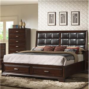Crown Mark  B6510 King Storage Bed