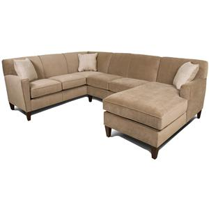 England Collegedale 3pc Sectional Sofa