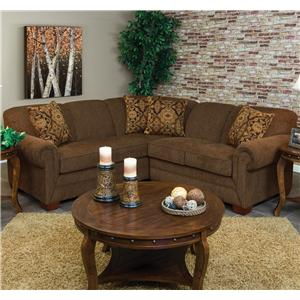 England Monroe 2pc LAF Sofa Sectional