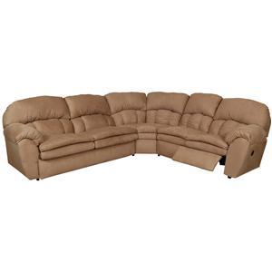 England Oakland Reclining Sectional Sofa