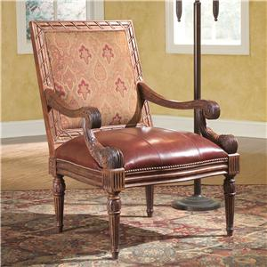 Fairfield Chairs Carved Accent Chair
