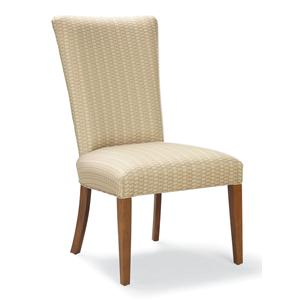 Fairfield Chairs Side Chair with Wood Legs