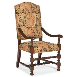 Fairfield Chairs Exposed Wood Accent Chair