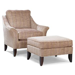 Fairfield Chairs Stationary Chair and Ottoman