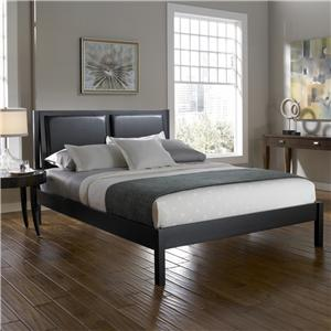 Fashion Bed Group Wood Beds Queen Wedge Bed