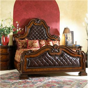 Fine Furniture Design Viniterra King Leather Panel Bed