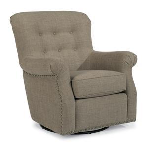 Flexsteel Accents Hopkins Swivel Chair
