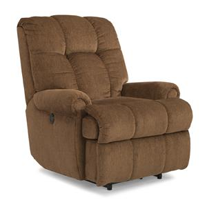 Flexsteel Accents Large Recliner with Power