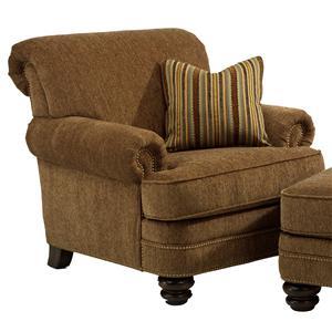 Flexsteel Bay Bridge Traditional Chair