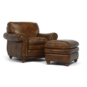 Flexsteel Latitudes - Belvedere Chair and Ottoman