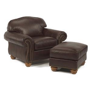 Flexsteel Bexley Chair and Ottoman