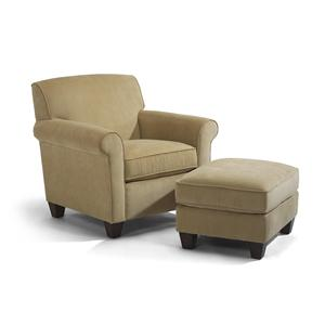 Flexsteel Dana Chair and Ottoman