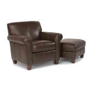 Flexsteel Dana Chair and Ottoman