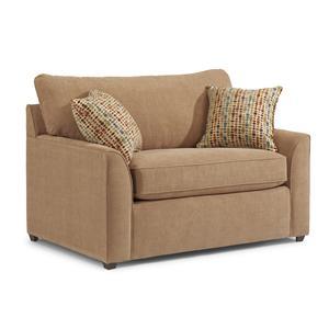 Flexsteel Key West Twin Size Sofa Sleeper