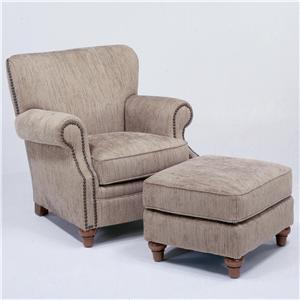 Flexsteel Killarney Chair & Ottoman