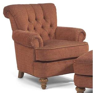 Flexsteel South Hampton Tufted Back Chair