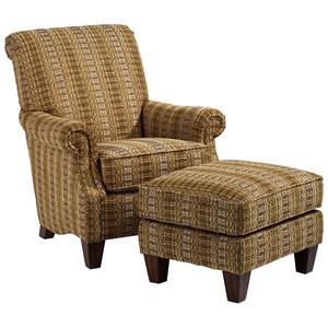 Flexsteel Stafford Chair and Ottoman