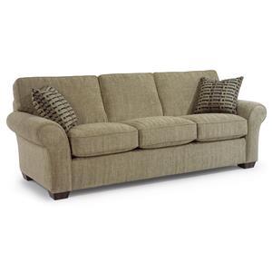 "Flexsteel Vail 91"" Vail Three Cushion Sofa"