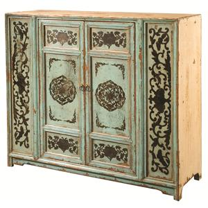 Four Hands Zhang Painted Cabinet