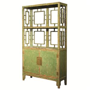 Four Hands Zhang Chinese 2 Door/Shelf Cabinet