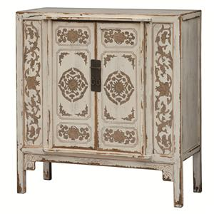 Four Hands Zhang Painted Cabinet 2 Door
