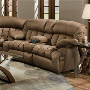 Franklin 568 Reclining Loveseat