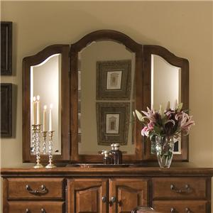 Furniture Traditions Alder Hill Beveled Wing Mirror