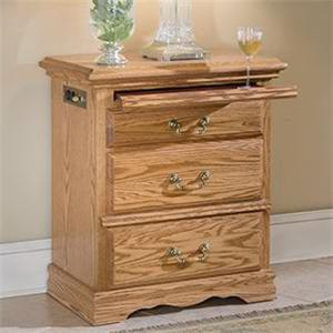 Furniture Traditions Master-Piece 3-Drawer Nightstand Right