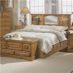 Furniture Traditions Master-Piece Nostalgia Bookcase Bed