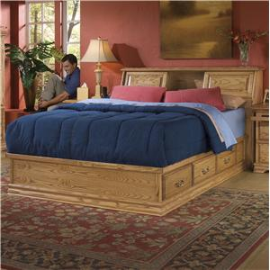 Furniture Traditions Master-Piece Master-piece Bed with Pedestal