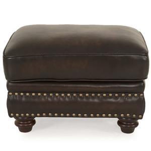 Futura Leather Westbury Leather Ottoman