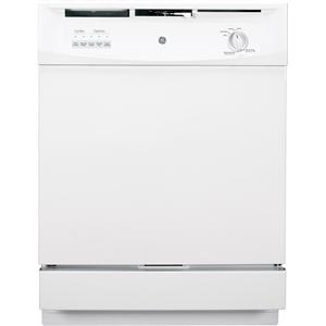 "GE Appliances Dishwashers 24"" Built-In Dishwasher"