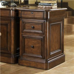 Golden Oak by Whalen Villa Tuscano 2 Drawer File