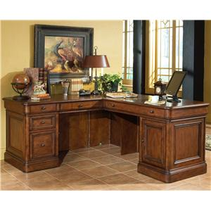 Golden Oak by Whalen Villa Tuscano Return Desk