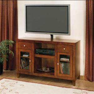 "Golden Oak by Whalen San Luis 52"" Hi-Boy Console"