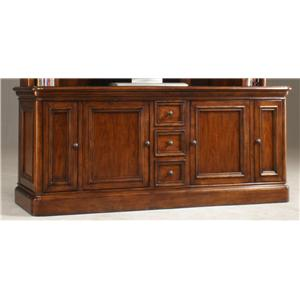 "Golden Oak by Whalen Villa Tuscano 76"" Entertainment Console"