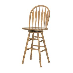 "GS Furniture American Classic 30"" Casual Monarch Swivel Stool"