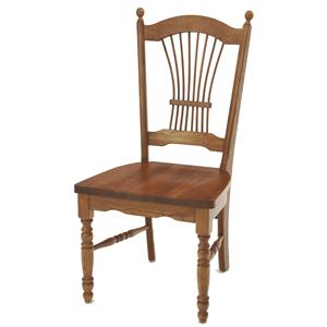 GS Furniture American Classic Sheaf Back Side Chair