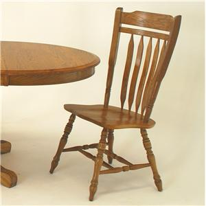 GS Furniture American Classic Schoolhouse Side Chair