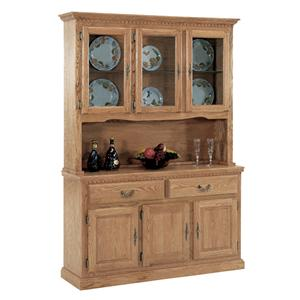 GS Furniture American Classic China Cabinet